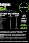 Bodyman BCAA Watermelon