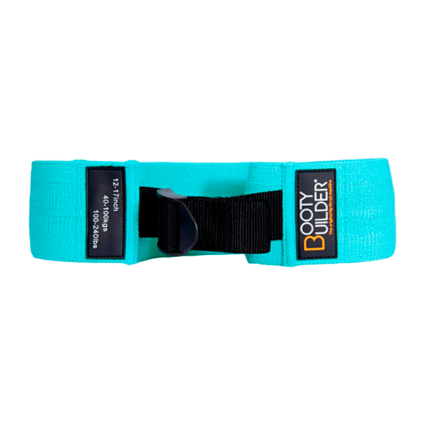 Image of Booty Builder Adjustable Loop Band Turquoise