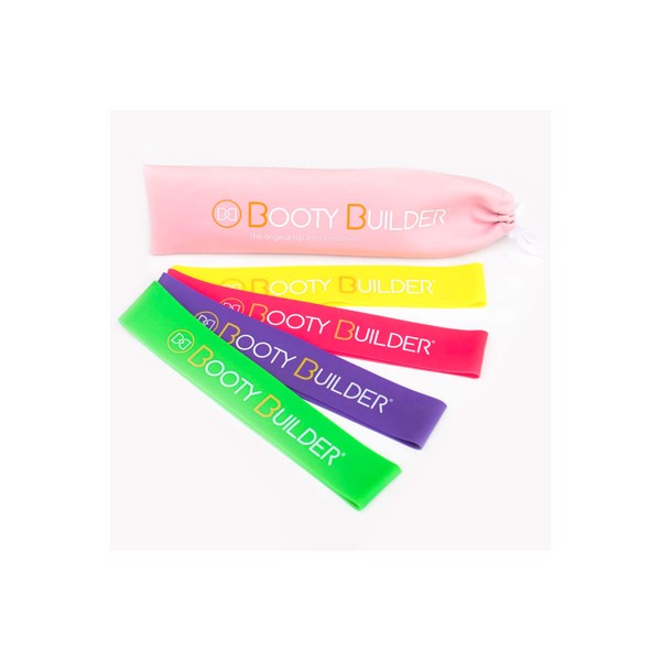 Image of Booty Builder Bands 4 Pack Pink