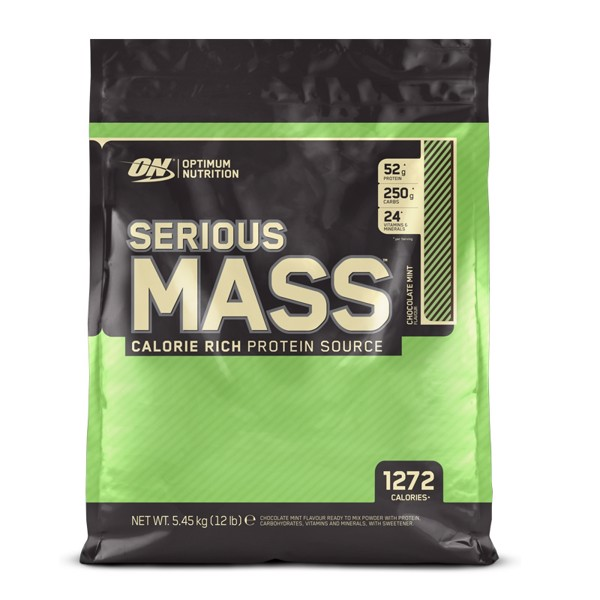 Image of Optimum Nutrition Serious Mass Chocolate Mint 5,45 kg