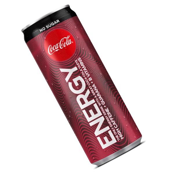 Image of Coca-Cola Energy Zero Sugar - 12stk - 25cl