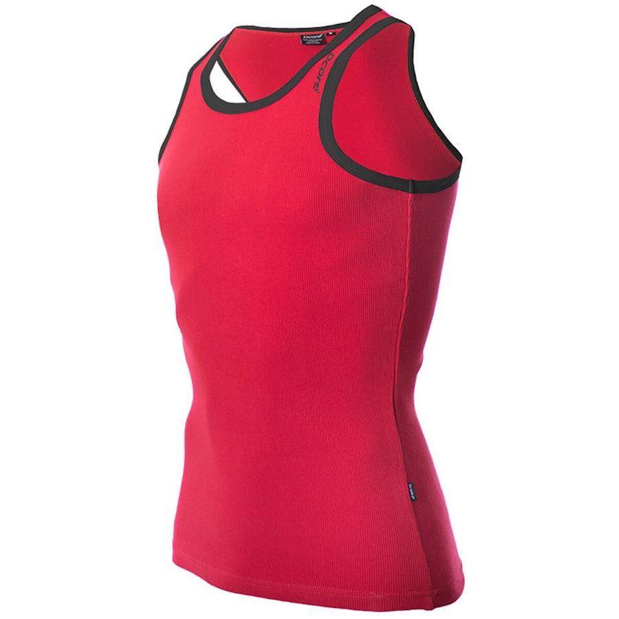Image of   Dcore Bodydesigned Ribsinglet Red/Black