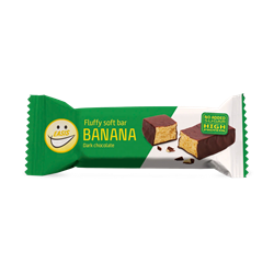 EASIS Fluffy Soft Bar Banansmag 12x30g