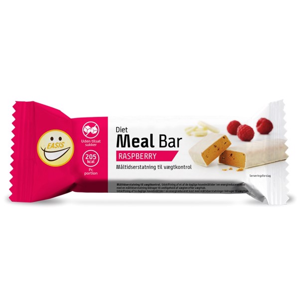 Image of Easis Diet Meal Bar Raspberry Cheese Cake 24x65g