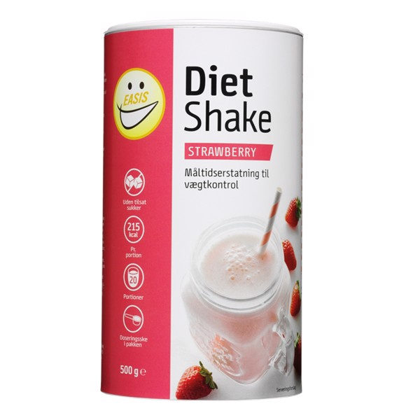 Image of Easis Diet Shake Strawberry 500g