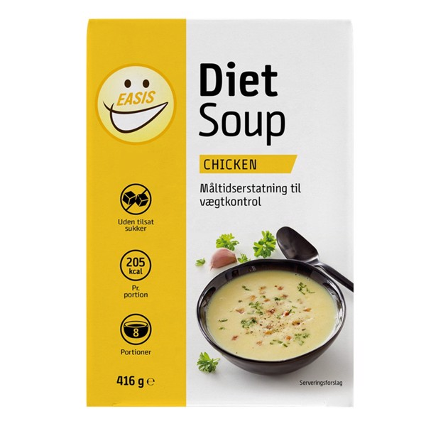 Image of Easis Diet Soup Chicken 8x52g