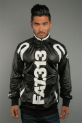 Fight Club Tracktop Fat313 Black/White