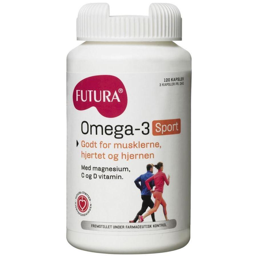 Futura Omega-3 Sport 120stk