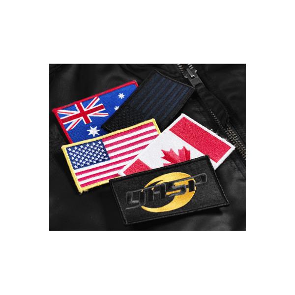 Billede af Gasp Flag USA Black