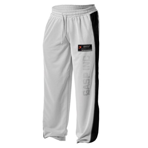 Image of Gasp No1 Mesh Pants White/Black
