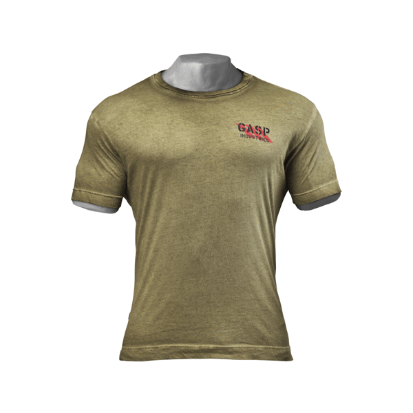 Image of   Gasp Standard Issue Tee Military Oil
