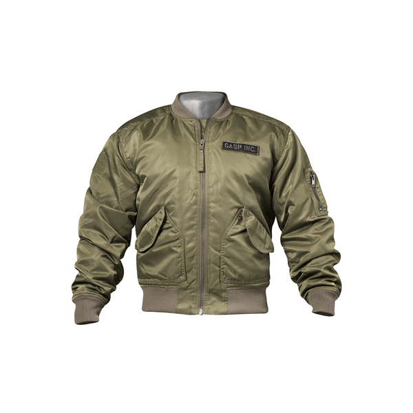 Image of   Gasp Utility Jacket Wash Green
