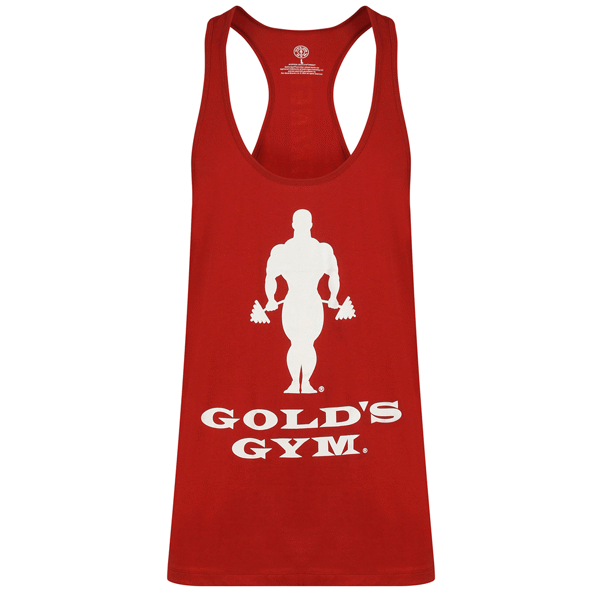 Billede af Golds Gym Muscle Joe Slogan Premium Tank Burgundy