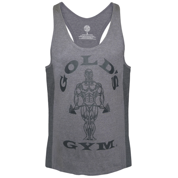 Billede af Gold's Gym Muscle Joe Tonal Panel Stringer Tank Grey