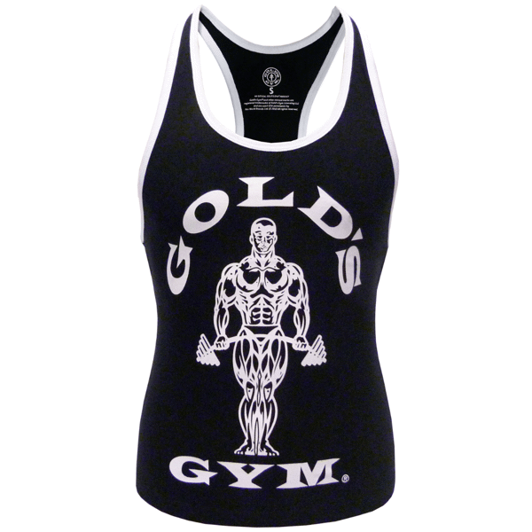 Image of   Golds Gym Ladies Loose Fit Muscle Tank Black