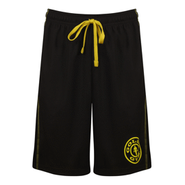 Gold's Gym Logo Mesh Shorts Black