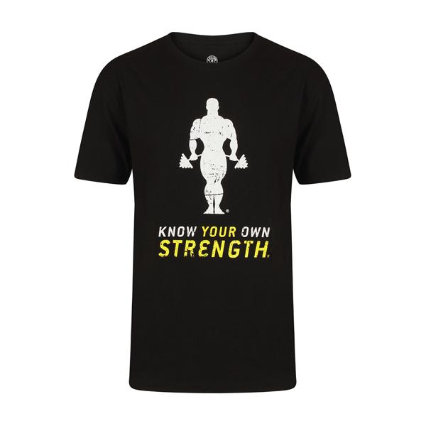 Image of   Golds Gym Premium Crew Neck T-Shirt - Black
