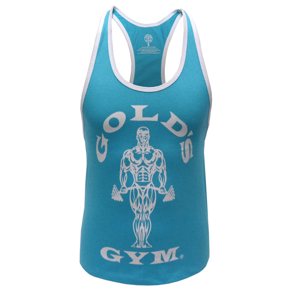 Image of   Golds Gym Ladies Loose Fit Muscle Tank - Turquoise
