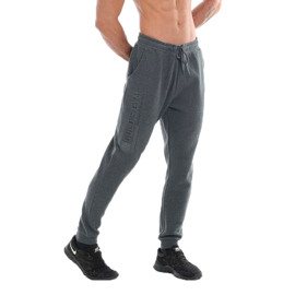 Gold's Gym Embossed Detail Jog Pants Charcoal Marl