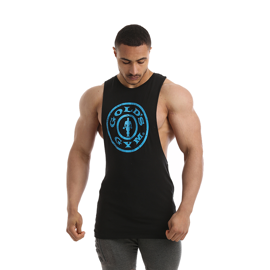 Gold's Gym Drop Armhole Tank Black