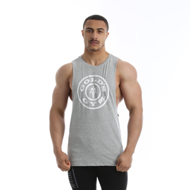 Gold's Gym Drop Armhole Tank Grey Marl