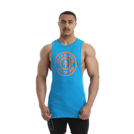 Gold's Gym Drop Armhole Tank Turquoise
