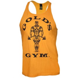 Golds Gym Stringer Tanktop - Gold