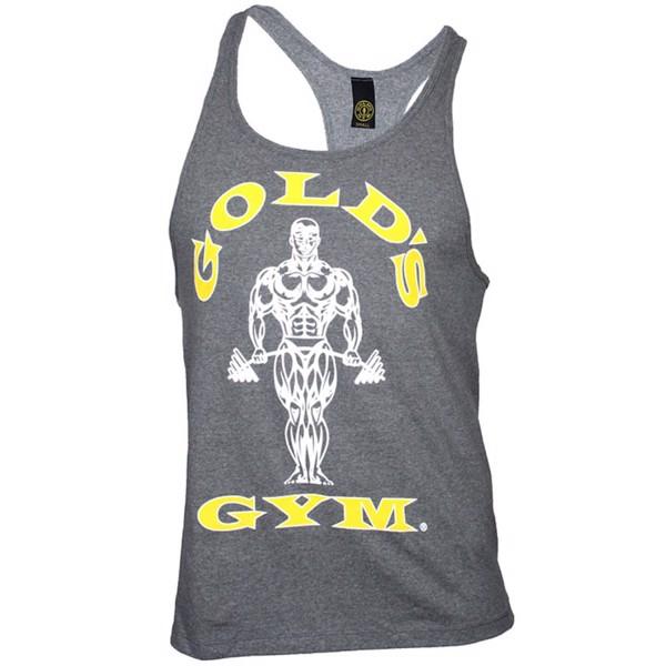 Image of   Golds Gym Stringer Tanktop Grey
