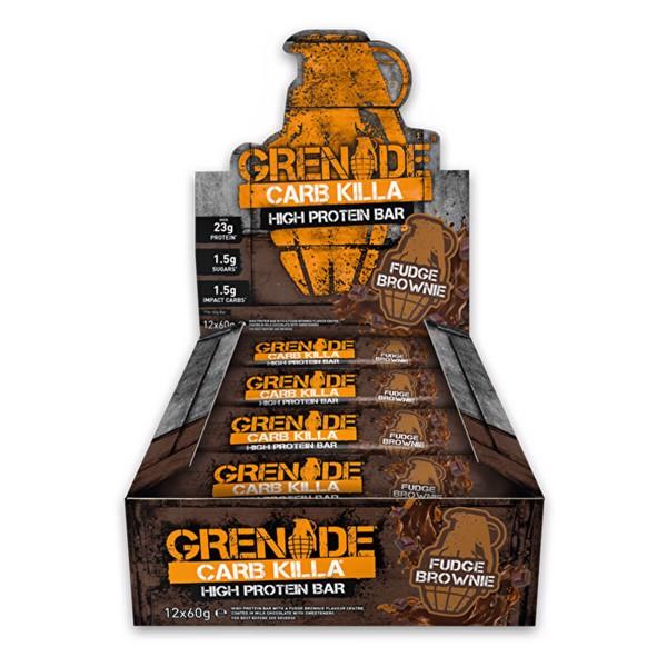Billede af Grenade Carb Killa Fudge Brownie 12x60g