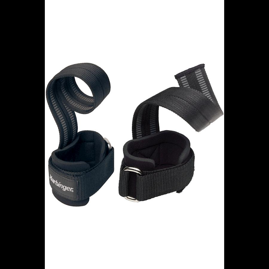 Image of   Harbinger Big Grip Pro Lifting Straps Black