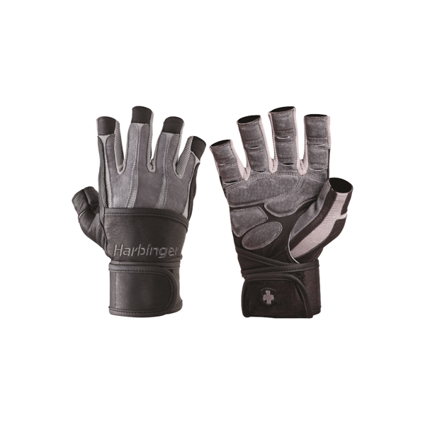 Harbinger Bioform Wrist Wraps Gloves Grey