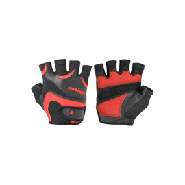 Harbinger FlexFit Gloves Black/red