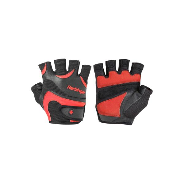 Billede af Harbinger FlexFit Gloves Black/red