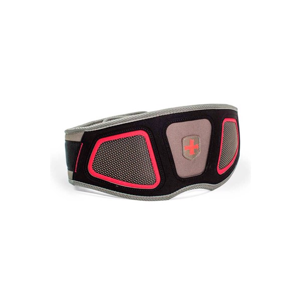 Image of Harbinger Mens Contour Belt Red/Grey