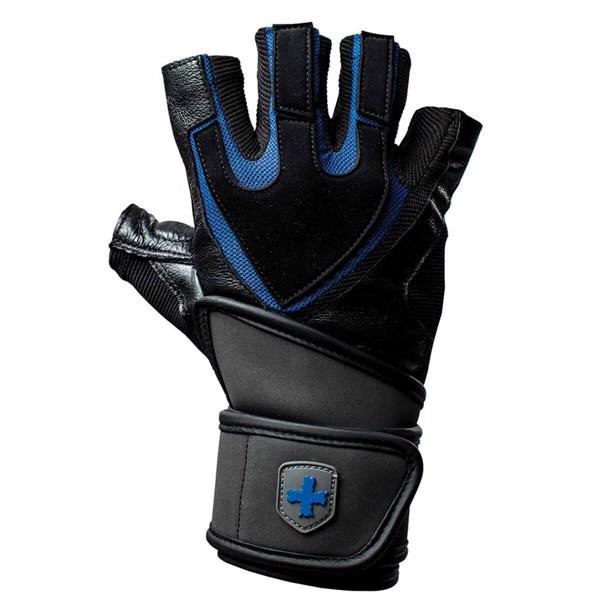 Billede af Harbinger Traning Grip Wristwrap - Black/Blue