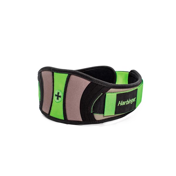 Harbinger Womens Contour Belt Green/Black