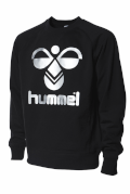 Hummel Classic Bee Sweat Top Sort/S�lv