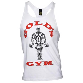 Golds Gym Stringer Tanktop - White