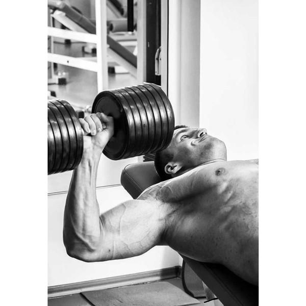 Billede af Hvordan får man store muskler? (sendes digitalt)