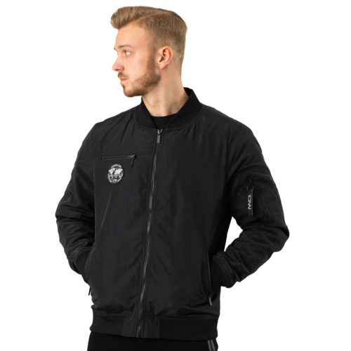 Image of   ICANIWILL Bomber Jacket Black
