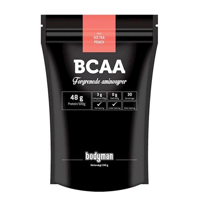 Image of Bodyman BCAA Ice Tea Peach 240g