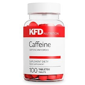 KFD Nutrition Caffeine 100 Tabletter