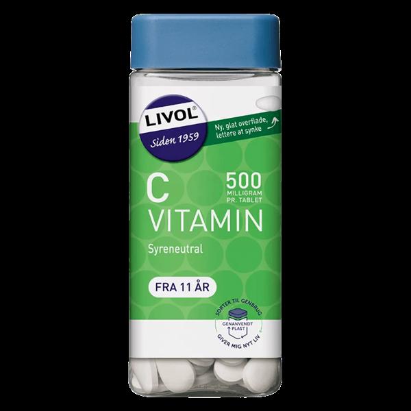 Køb Livol Mono Stærk Vitamin C 230 stk