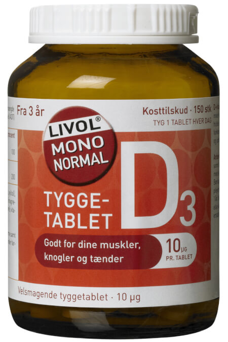 Billede af Livol D-Vitamin 150stk