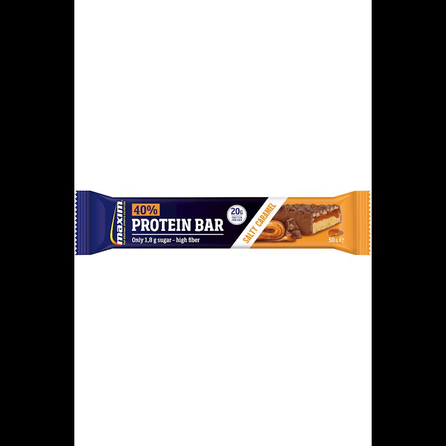 Billede af Maxim 40% Proteinbar Salty Caramel 18x50g