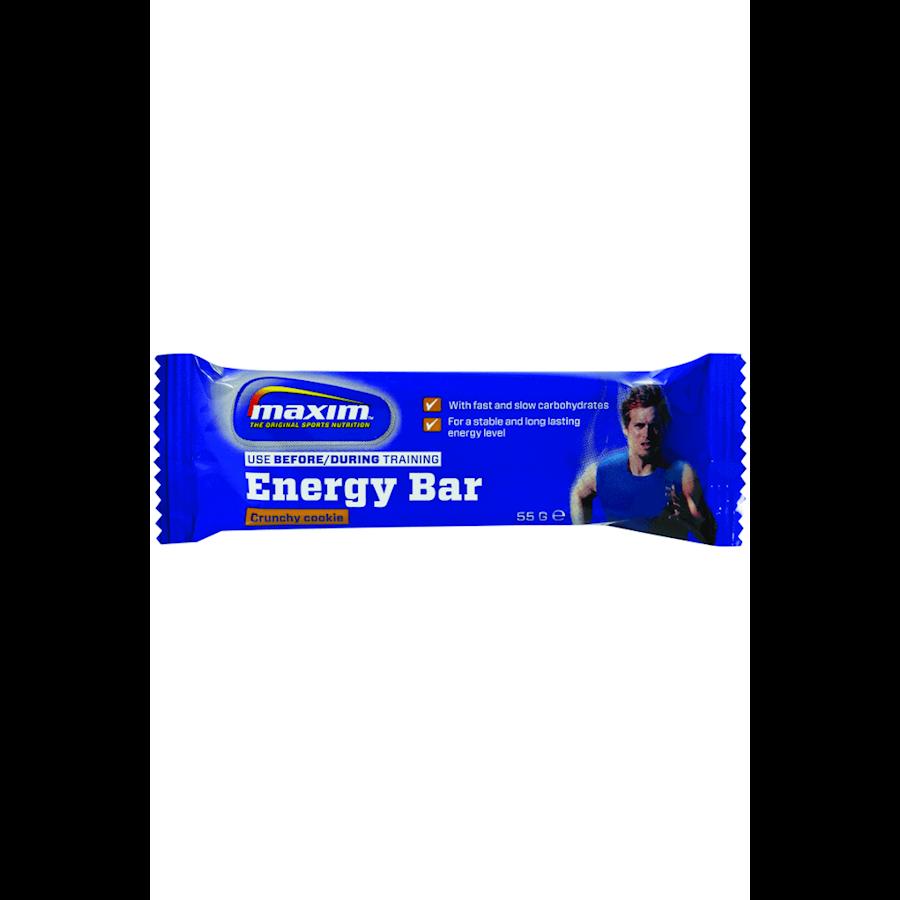 Billede af Maxim Energybar Crunchy Cookie 25x55g