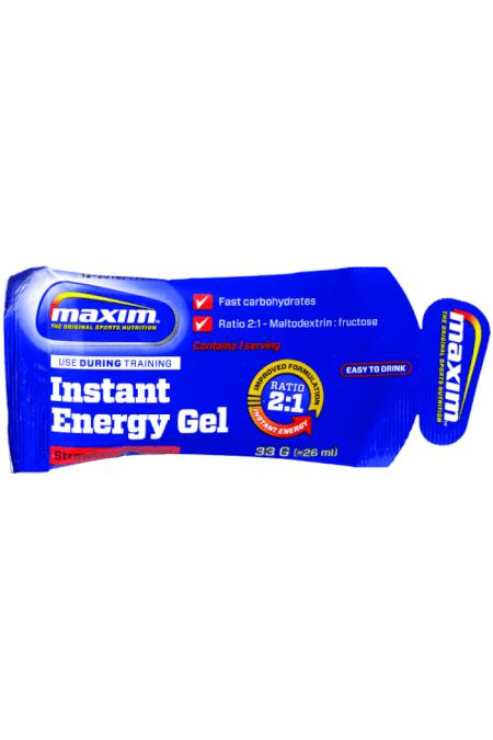 Billede af Maxim Energy Gel Strawberry 33g