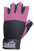 Pink Womens's Lifting Gloves MODEL 520 schiek
