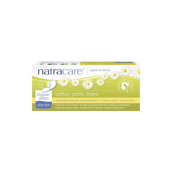 Image of Natracare Cotton Panty Liners