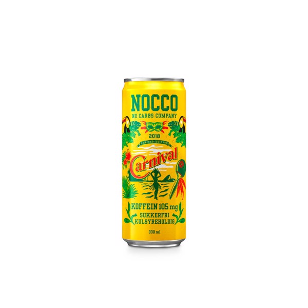 Image of Nocco BCAA Carnival (24x330ml)